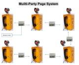 Sistema de gestão a partidos múltiplos do telefone do altifalante PA3 da transmissão do sistema de paginação