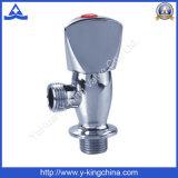 Válvula de ângulo de latão cromado (YD-5010)