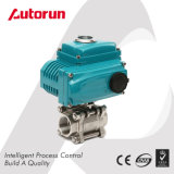 Wenzhou Delivery Shutoff Three Piece Internal Thread Electric Ball Valve