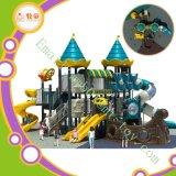 Kind-Spielplatz, im Freienspiel-Bodengerät, Plastikprodukt