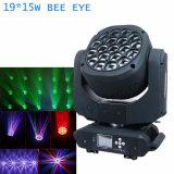 전문가 LED 이동하는 맨 위 가벼운 꿀벌 눈 K10 빛