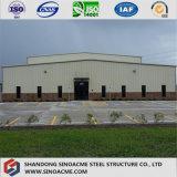 Estrutura de aço prefabricadas Sinoacme Depósito com estrutura metálica