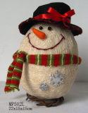 Decoración de Navidad - de forma ovalada muñeco de nieve (MP502L)
