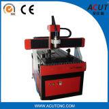 Máquina de gravura do CNC da elevada precisão com o giratório do baixo preço