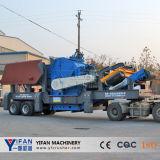Triturador de impacto móvel chinês de tecnologia líder