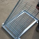 배수장치를 위한 이용된 강철 격자판