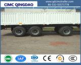 Cimc 3 반 차축 2+1 화물 트럭 트레일러