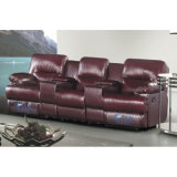 Modernes Heimkinorecliner-Sofa-Massage-Sofa 6018TV