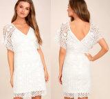 Vestito bianco dal merletto di primo bacio