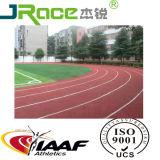 След PU Iaaf польностью политый резиновый атлетический идущий