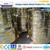Miroir 316L laminé à chaud d'approvisionnement d'usine terminant la bobine de feuille d'acier inoxydable