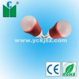 LED de Shell vermelho Lâmpada esfera G60 4W de potência