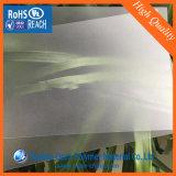 Hoja transparente de PVC en relieve, Extrusión grueso clara helada Hoja de PVC rígido