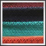 Шнурок вышивки гипюра универсального шнурка гипюра Striped