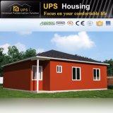 Grünes modulares permanentes Luxuxstahllandhaus für Verkauf