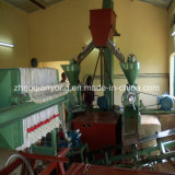 los gérmenes de girasol 10-50td, algodón siembran la línea vegetal de la producción petrolífera
