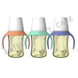 PPSU Quadrat-Deckel mit Griff-führender Flasche breiter Mund /BPA frei 180ml