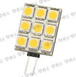 9pcs Lámpara LED SMD 1,8 W (G4 LN)