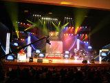 Visualización de LED de interior del alquiler de la pantalla caliente de la venta P4.81mm LED para los acontecimientos de la etapa