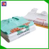 다채로운 t-셔츠 플라스틱 조끼 운반대 삼각천 많은 쇼핑 도매 상점 식료품 백