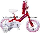 12inch白の赤い子供の自転車はKb035を疲れさせる