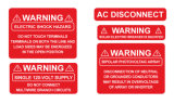 Escrituras de la etiqueta de alto rendimiento para la industria fotovoltaica solar de la instalación