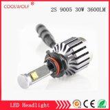 Faro delle lampadine del faro dell'automobile LED di vendita diretta 2s 9005 30W 2800lm LED della fabbrica con il prezzo competitivo