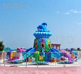 Gran equipo de parque de diversiones al aire libre niños les encantó jugar Self-Control Avión Juego Familiar