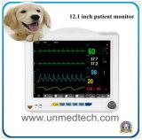 12,1-дюймовый портативный цифровой ветеринарных монитора пациента с помощью параметров