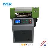 기계를 인쇄하는 대중적인 Wer-Ep6090t A1 탁상용 직물 인쇄 기계 t-셔츠