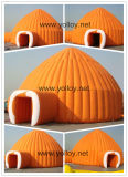 Dôme gonflable tente igloo pour temps froid