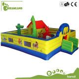 Große interessante Kind-aufblasbares Prahler-Haus für Verkauf