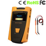 Analizzatore tenuto in mano della batteria (0-18V immessi)
