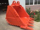 Esqueleto/padrão/cubeta máquina escavadora da rocha para KOMATSU/gato/Volvo/Hitachi de 2ton-100ton com dentes