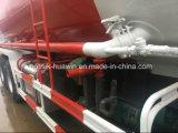 Los policías motorizados de Sinotruk HOWO 8X4 12 abultan carro del cemento con el volumen 20cbm-35cbm del tanque