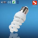 가득 차있는 나선 9W 에너지 절약 전구, 조밀한 형광 CFL