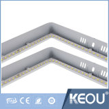 El Bis Saso aprobó el panel montado superficie redonda cuadrada de 8 pulgadas LED
