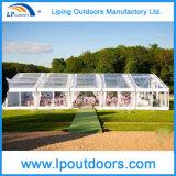 Grande tente d'événement avec la tente transparente de première tente claire de banquet