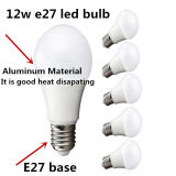 Cnpro LEDランプ12W E27 E26 B22 LEDの球根ライト1320lm AC100V-265V 65*128mm中国LED照明工場