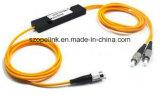 PLC van de Telecommunicatie van Gpon 1X2 de Plastic Doos van de Splitser