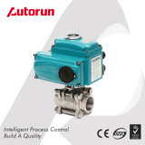 Wenzhou Supplier Shutoff Three Piece Internal Thread Electric Ball Valve
