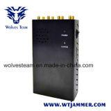 8 emittenti di disturbo tenute in mano WiFi dell'antenna ed emittente di disturbo del segnale del telefono di 3G 4glte 4gwimax
