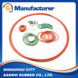 Pequeño anillo o de goma del silicón suave impermeable colorido