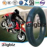 Câmara de ar macia e elevada da motocicleta da elasticidade 110/80-17 para Ámérica do Sul