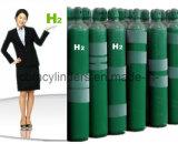 6m3シリンダーの高い純度H2の水素ガス