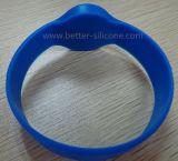 Bracelet intelligent de silicones d'IDENTIFICATION RF pour le système de contrôle d'accès