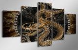 HD imprimió la lona animal Mc-089 del cuadro del cartel de la impresión de la decoración del taller de impresión de la lona de pintura del arte del dragón