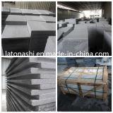G654 natural pulido para pisos de granito gris oscuro, pavimentación, pasos