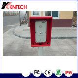 IPのドアの電話IPのアクセス制御非常電話の通話装置Knzd-45