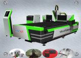 Fibra de 500 W Router CNC máquina de corte a laser para chapa metálica